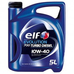 ELF EVOLUTION 700 TURBO DIESEL 10W-40, 5L