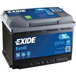 Exide Excel EB740 74Ah