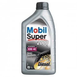 MOBIL SUPER 2000 X1 DIESEL 10W-40, 1L