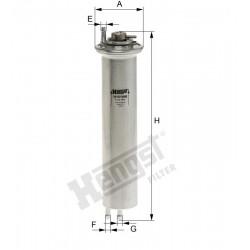 Filter goriva HENGST H151WK - BMW 5 E39 520i, 525i, 530i, 535i, 540i