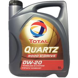 Total QUARTZ 9000 V-DRIVE 0W-20, 5L